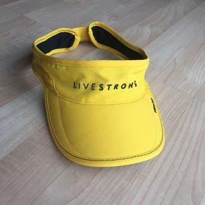 ad0c26d9febfa Nike Accessories - Nike Live Strong Velcro Adjustable Visor Hat Cap